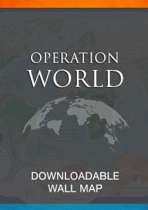 Operation World Wall Map, revised (Spanish)